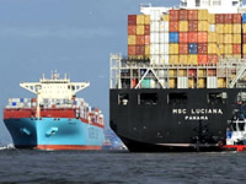 b2f079d7f El contenedor ha revolucionado el sector naviero, en el cual mandan cinco  grandes empresas. La italiana MSC, la danesa Maersk, la francesa CMA CGM,  ...