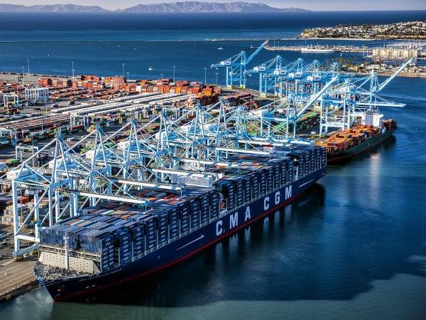 Puerto de Los Ángeles comienza 2019 transfiriendo 852.449 TEUs en enero
