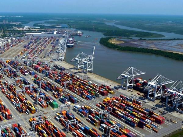 Puerto de Savannah en EE.UU. se expande para atender seis buques de 14.000 TEUs en 2024
