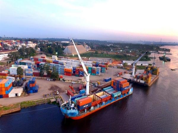 Terport y Tecplata logran acuerdo para abaratar costos de fletes en la hidrovía Paraguay- Paraná